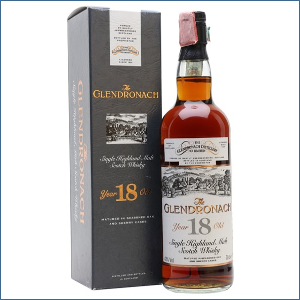 Glendronach 18 Year Old Sherry Cask  1976 70cl 43%