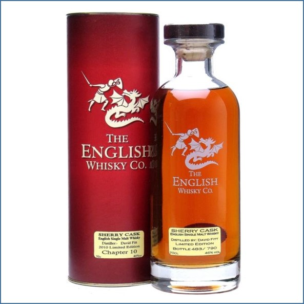 The English Whisky  Chapter 10 Sherry Cask 70cl 46%