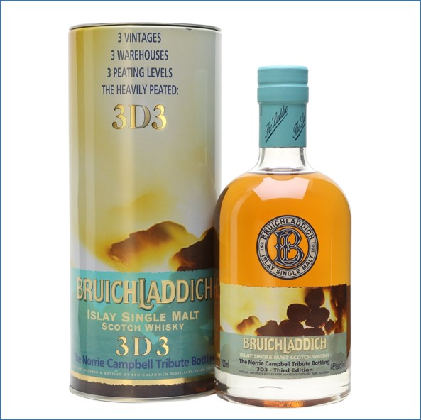 Bruichladdich 3D 3 Norrie Campbell 70cl 46%