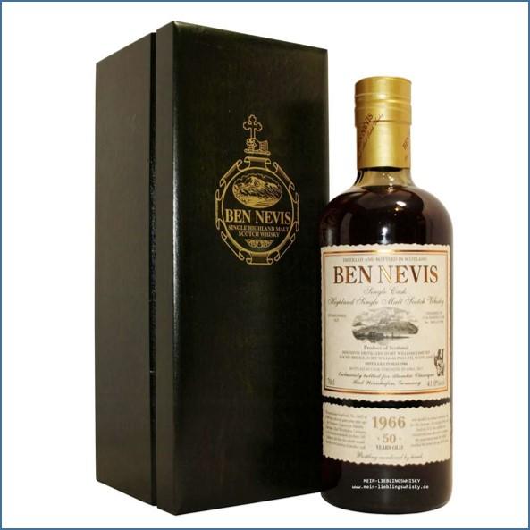 Ben Nevis 50 Year Old 1966  Dark Calvados 70cl  41%