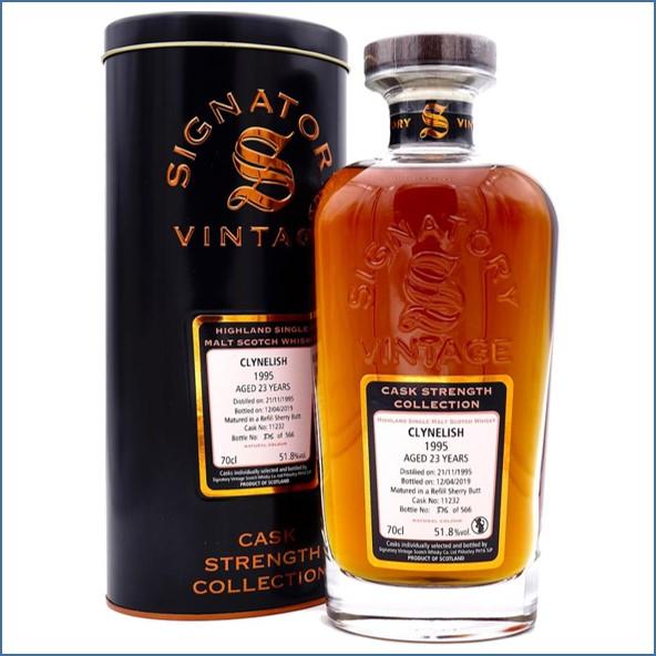 Clynelish 1995 23 Year Old 2019 Signatory Highland Single Malt Scotch Whisky 70cl 51.8%