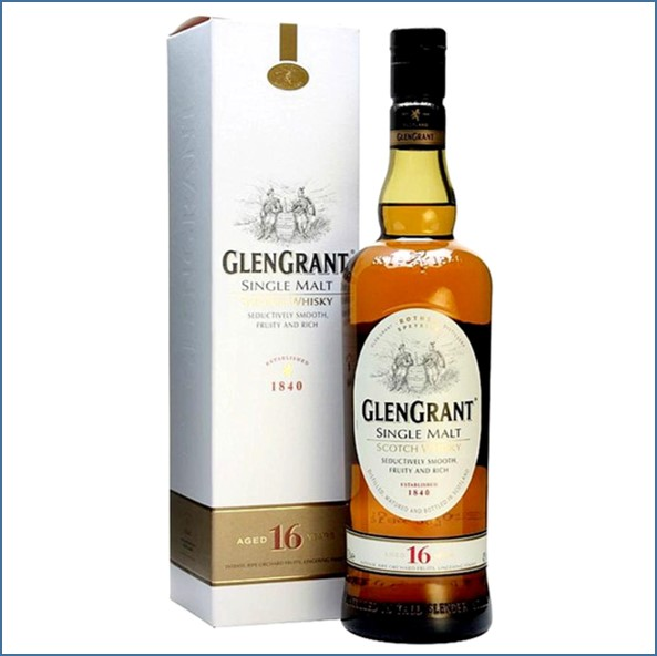 Glen Grant 16 Year Old Speyside Single Malt Scotch Whisky 70cl 43%