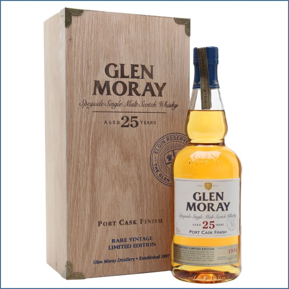 Glen Moray 25 Year Old 1994 Port Finish 70cl 43%