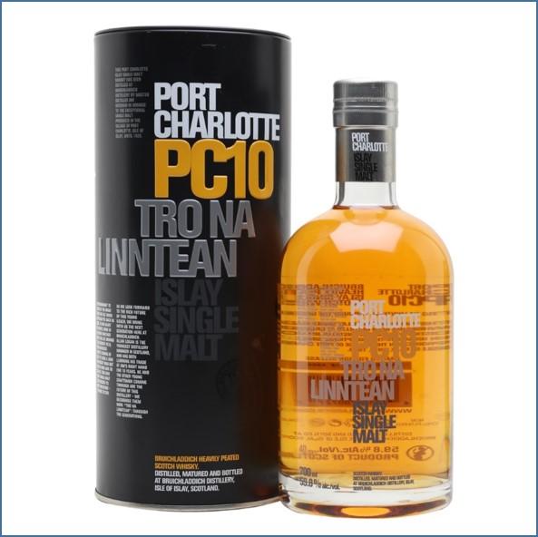 Port Charlotte PC10 Tro Na Linntean 70cl 59.8%