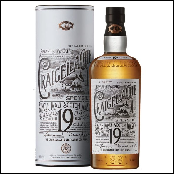 Craigellachie 19 Year Old 70cl 46%