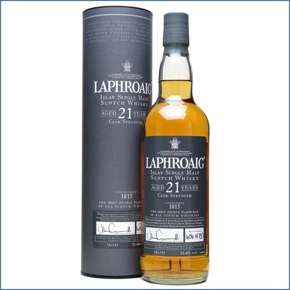 Laphroaig 21 Year Old 70cl 53.4%