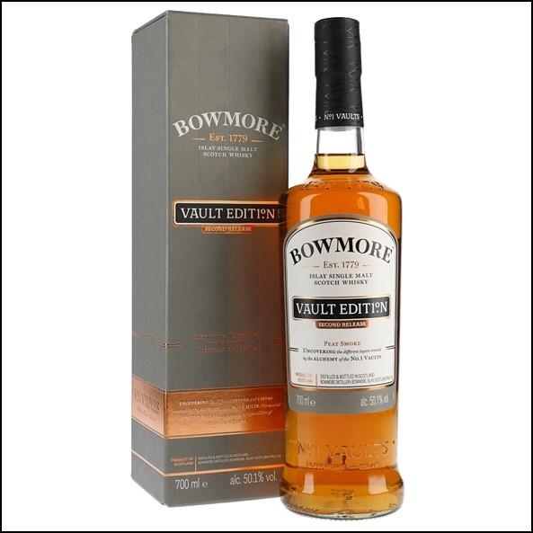 Bowmore Vault Edition 2 Peat Smoke 70cl 50.1%/波摩 VAULT EDITION 大西洋海鹽/Bowmore Whisky 波摩威士忌收購價格表/台灣洋酒收購中心