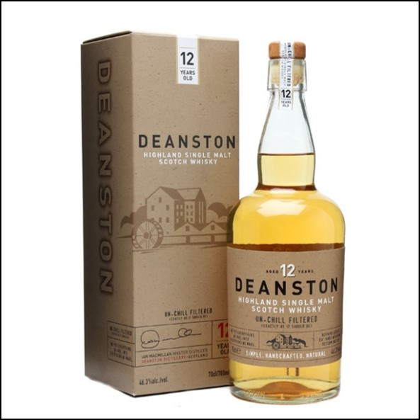 Deanston 12 Years Old Un-chill Filtered