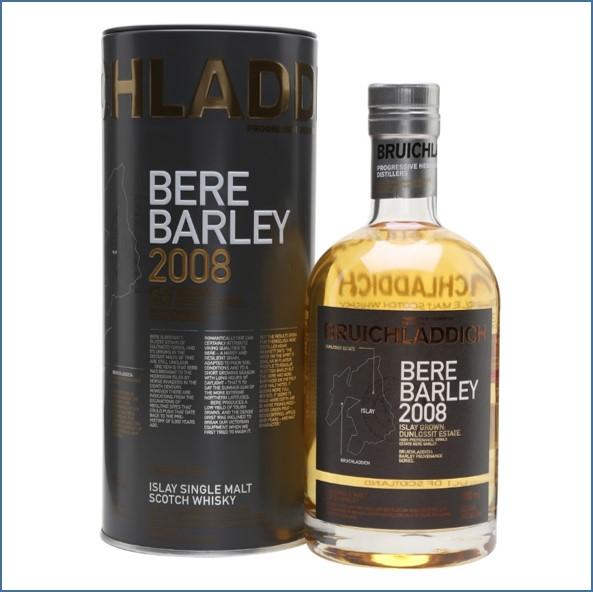 布萊迪收購 Bruichladdich Bere Barley 2008 Islay Barley 70cl 50%