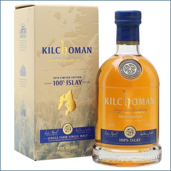 Kilchoman 100% Islay  8th Edition 70cl 50%