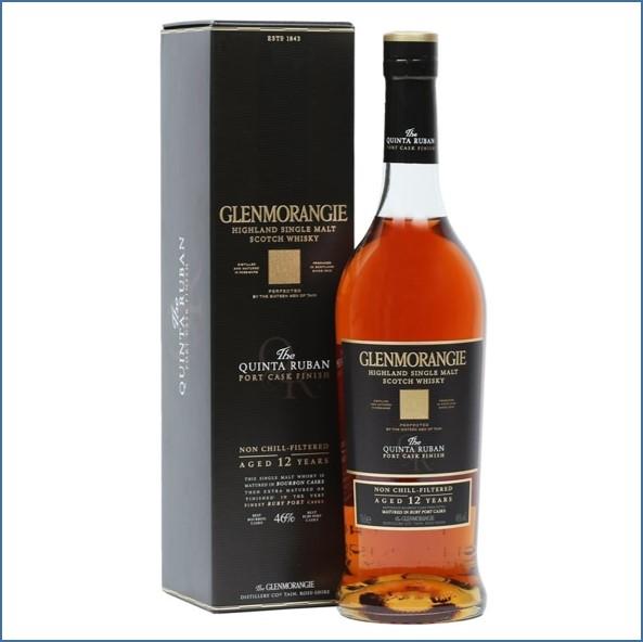 Glenmorangie 12 Year Old Quinta Ruban Port Finish  70cl 46%
