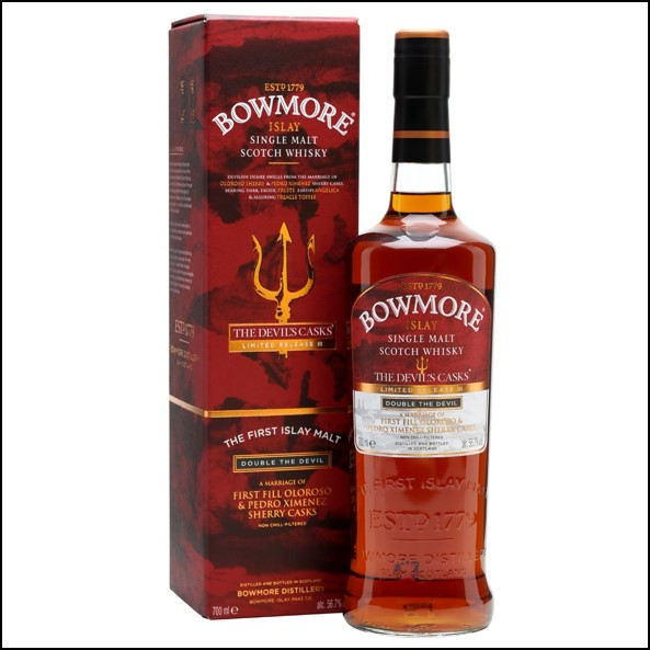 Bowmore 10 Year Old The Devil's Casks Batch 3 70cl 56.7%