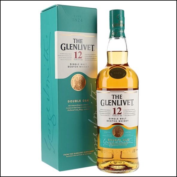GLENLIVET 12 YEAR OLD 70cl 40%