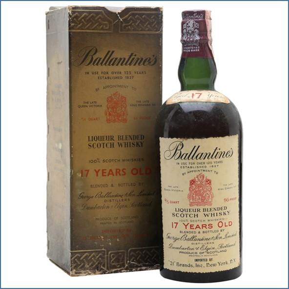 Ballantine's 17 Year Old Bot.1960s 75.7cl 43%