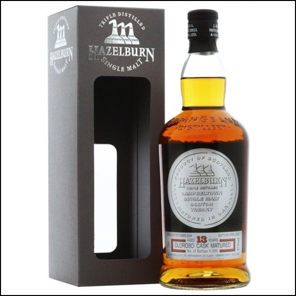 Hazelburn 13 Year Old  Sherry Wood  2004-2018 Release 70cl 47.4%