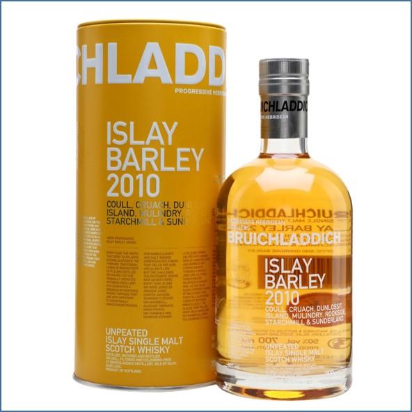 布萊迪收購 Bruichladdich Islay Barley 2010 70cl 50%