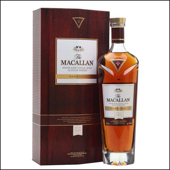 收購麥卡倫/Macallan Rare Cask Batch No1 2019 Release 70cl 43%