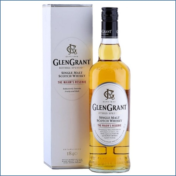 Glen Grant The Major's Reserve Single Malt Scotch Whisky 70cl 40% 格蘭冠少校典藏