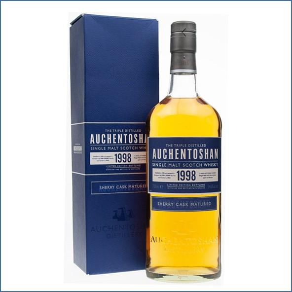 Auchentoshan 12 Year Old 1998 Sherry Cask Matured 70cl 54.6%