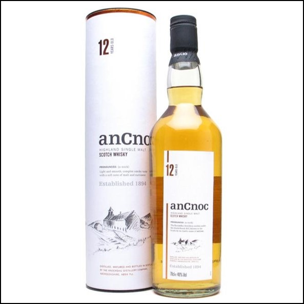 ANCNOC 12 YEAR OLD 70cl 46%