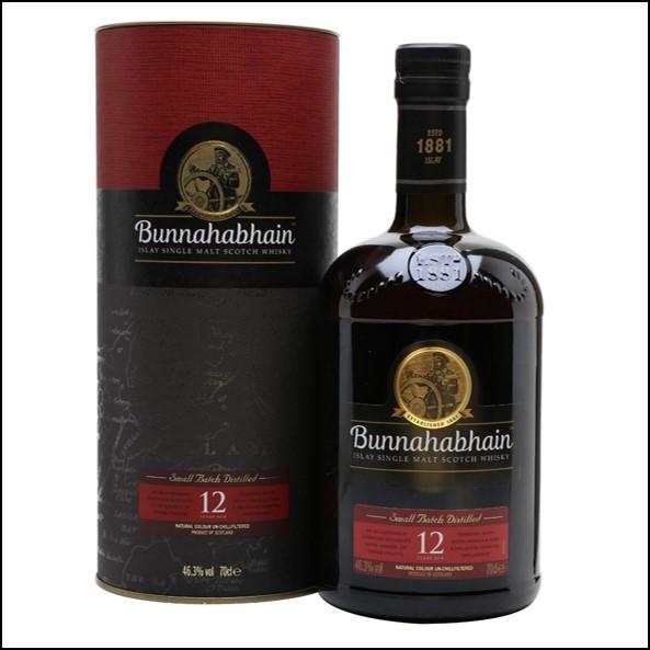 Bunnahabhain 12 Year Old 70cl 46.3%