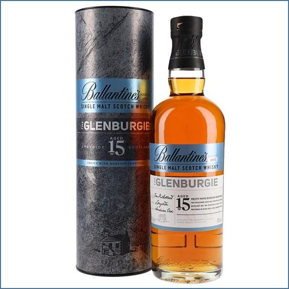 Ballantine's The Glenburgie 15 Years Old Speyside Single Malt Scotch Whisky 70cl 40%