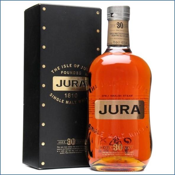 Isle of Jura 30 Year Old Island Single Malt Scotch Whisky 70cl 40%