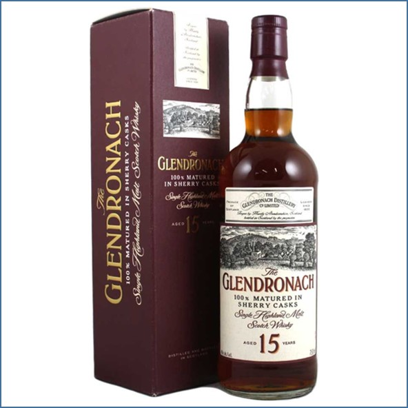 Glendronach 15 Year Old Sherry 75cl 40%