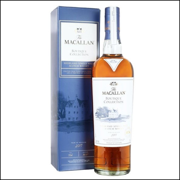 收購麥卡倫原酒 Macallan Boutique Collection  2017 Release 70cl 56.8%