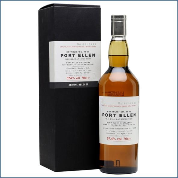 Port Ellen 1979  25 Year Old  5th Release 2005 70cl 57.4%