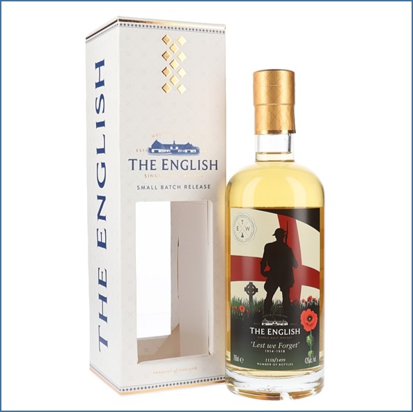 The English Whisky Co. Classic 70cl 43%