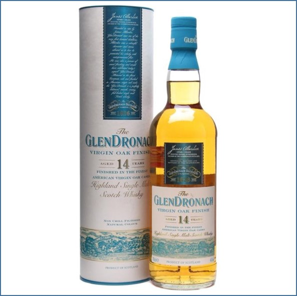 Glendronach 14 Year Old Virgin Oak Finish 70cl 46%
