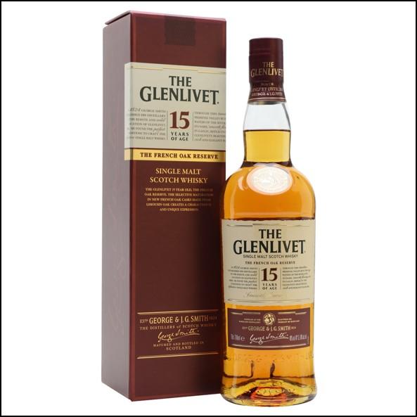 GLENLIVET 15 YEAR OLD French Oak Reserve 70cl 40%