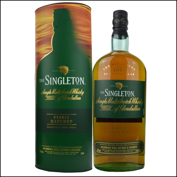 The Singleton of Glendullan Double Matured 100cl 40% 蘇格登 雙桶陳釀收購Glendullan