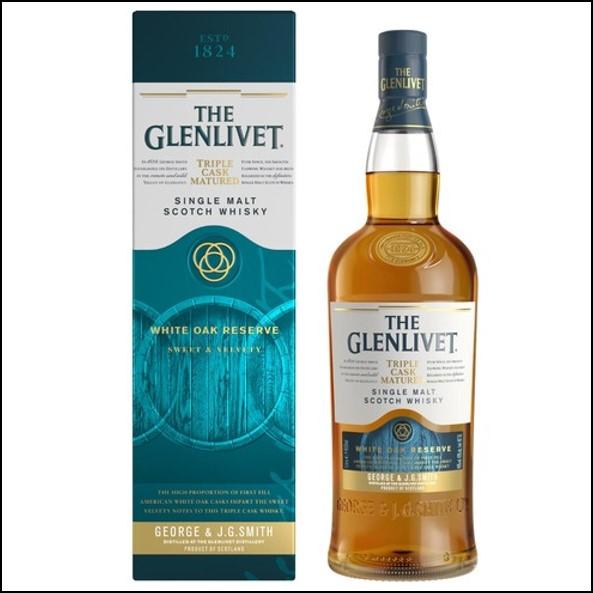 The Glenlivet White Oak Reserve 100cl 40%