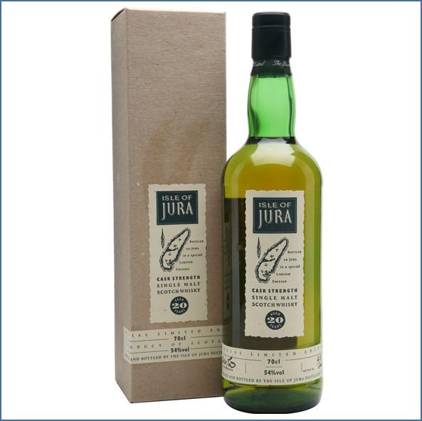 Isle of Jura 20 Year Old Cask Strength Island Single Malt Scotch Whisky 70cl 54%