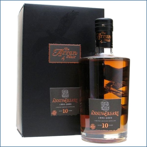 Arran 10 Year Old 10th Anniversary 1995-2005 70cl 46%