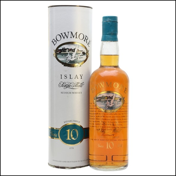 Bowmore 10 Year Old  Bot.1980s 75cl 40%