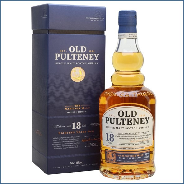 Old Pulteney 18 Year Old 70cl 46%