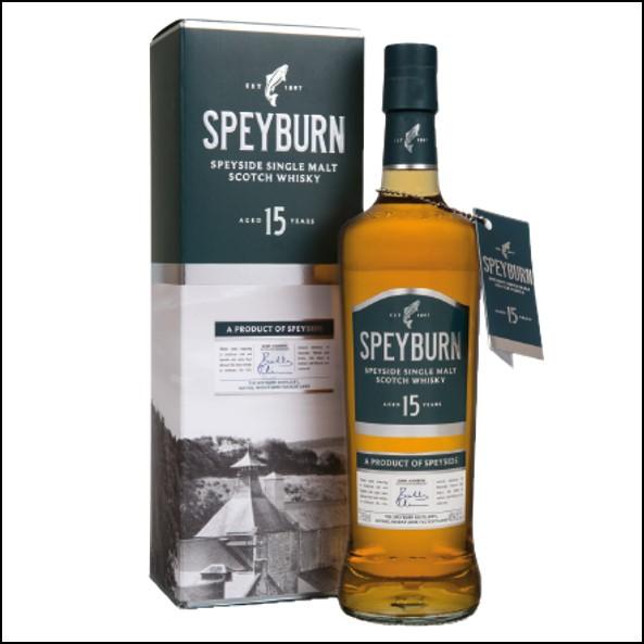 Speyburn 15 Year Old Speyside Single Malt Scotch Whisky 70cl 46%
