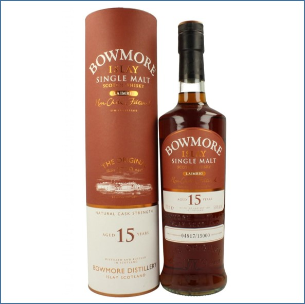 Bowmore 15 Year Old - Laimrig Batch 1 70cl 50.3% Bourbon & Oloroso Sherry 2009