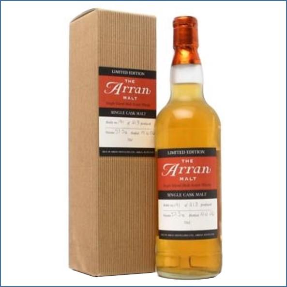 Arran Single Cask Bourbon Cask 70cl 57.5%