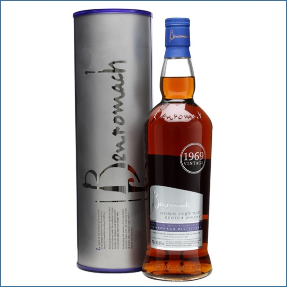Benromach 1969 42 Year Old Refill Sherry Cask 70cl 42.6%