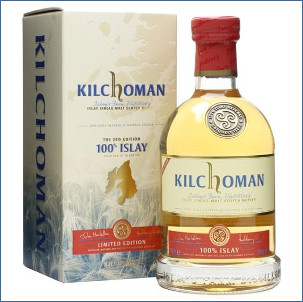 Kilchoman 100% Islay  3th Edition 70cl 50%