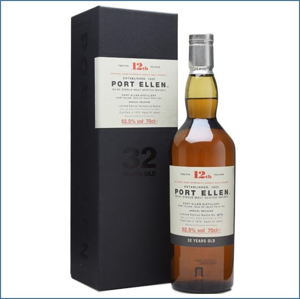 Port Ellen 1979  32 Year Old  12th Release  2012 70cl 52.5%