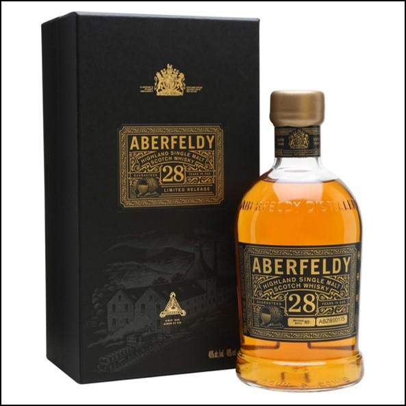 Aberfeldy 28 Year Old  70cl 40% 收購艾伯迪28年