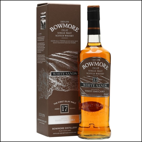 Bowmore 17 Year Old White Sands 70cl 43%