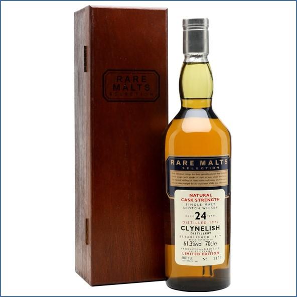 Clynelish 1972 24 Year Old Rare Malts Highland Single Malt Scotch Whisky 70cl 61.3%