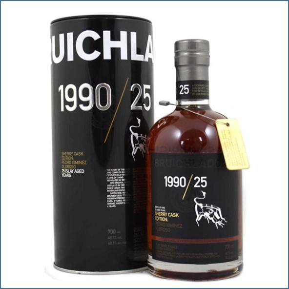 Bruichladdich 25 Year Old PX 1990 70cl 48.1%