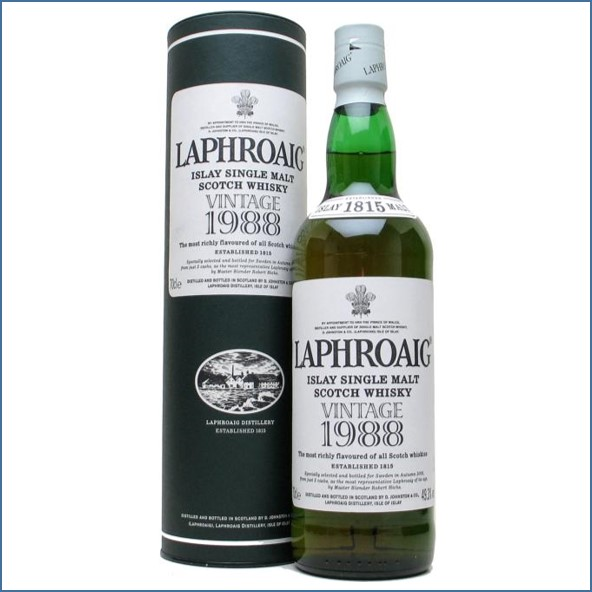 Laphroaig 18 Years Old 1988 70cl 49.3%